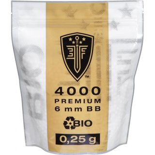 Elite Force Premium 6mm BB Bio Kugeln 0,25g 4000 Kugeln