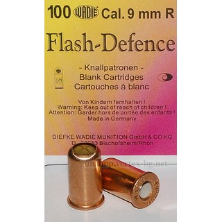 Wadie 9mm R. Flash- Defence Munition - 10 Schuss
