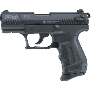 Walther P22 Black 9mm P.A.K. Gas/Signal Pistole