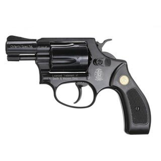 Smith&Wesson Chiefs Special Revolver Kal. 9mm R.K. black