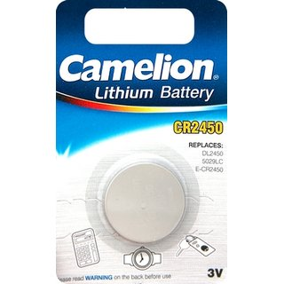 Camelion Lithium Battery CR2450