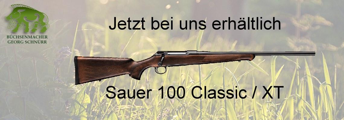 Sauer 100 Classic / XT